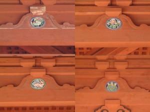 高野山大門 彫刻